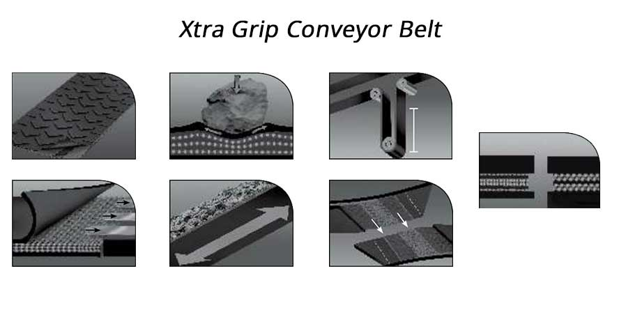 Xtra Grip Conveyor Belt